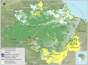 Mapa SAD nuvens 300x222 - Boletim do desmatamento da Amazônia Legal (julho de 2015) SAD