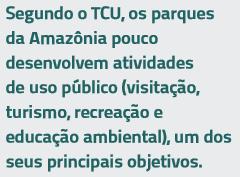 tcu - Desafios para a consolidação das Unidades de Conservação Estaduais do Pará