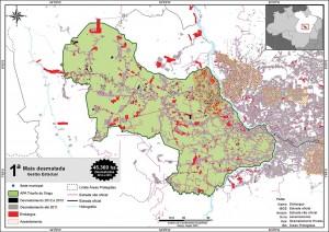 fig 08 UCS+Desm 300x212 - Unidades de Conservação mais desmatadas da Amazônia Legal (2012-2015)