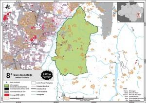 fig 26 UCS+Desm 300x212 - Unidades de Conservação mais desmatadas da Amazônia Legal (2012-2015)