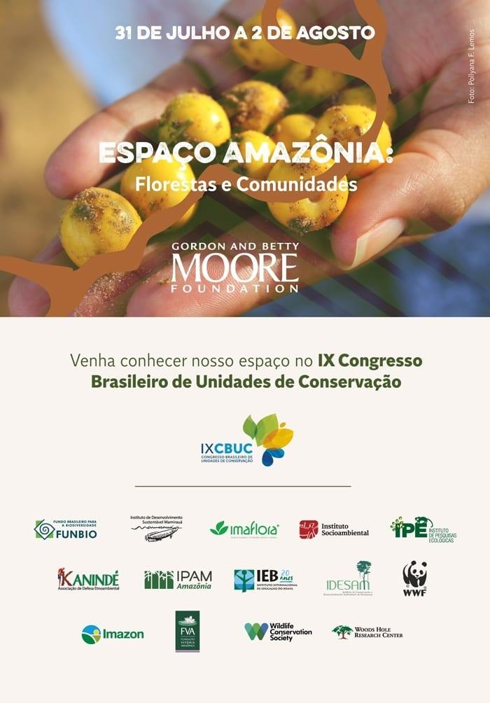 CBUC AreasProtegidas convite - Imazon participa do IX Congresso Brasileiro de Unidades de Conservação em Florianópolis