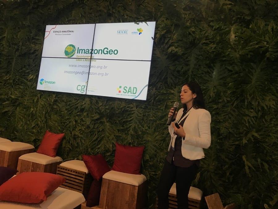 ImazonGeo Julia Ribeiro - Novo ImazonGeo: maior acesso à informação para a fiscalização do desmatamento