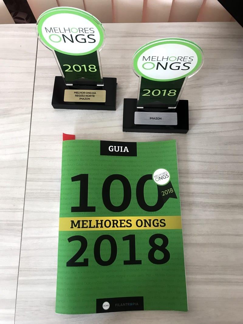 Melhores ONGs 2018 Imazon - Imazon é a melhor ONG do Norte
