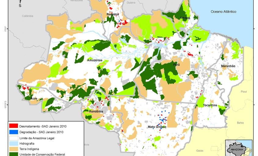 desmatamento mensal na amazonia legal 2010 janeiro g 845x510 - Desmatamento Janeiro 2010