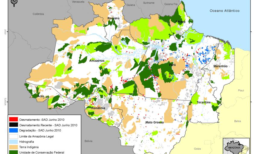 desmatamento mensal na amazonia legal 2010 junho g 1 845x510 - Desmatamento Junho 2010
