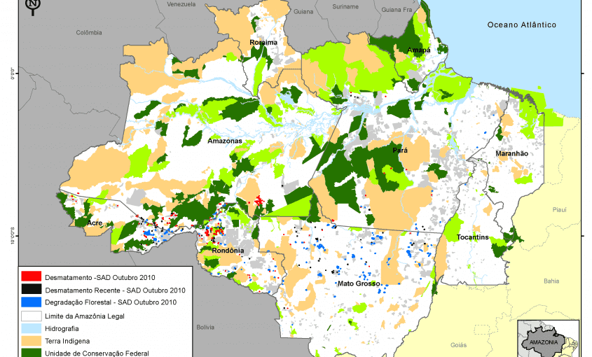 desmatamento mensal na amazonia legal 2010 outubro g 1 845x510 - Desmatamento Outubro 2010