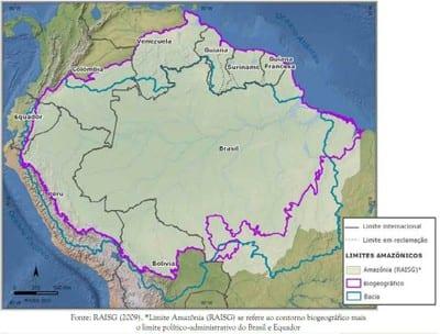 mapa1 1 - Desmatamento acumulado na Amazônia até o ano de 2012. Fonte: Inpe/Prodes.