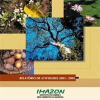 2003 2004 - Relatório de Atividades 2003 - 2004