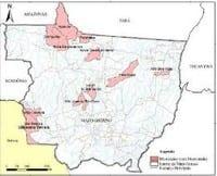florestal agosto - Boletim Transparência Florestal Estado do Mato Grosso (Agosto de 2008).