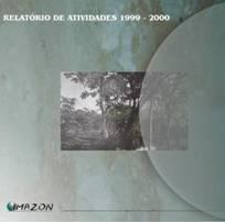 relatorio de atividades 1999 2000 - Relatório de Atividades 1999 - 2000