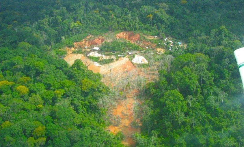 Garimpos Par 068 845x510 - Boletim do desmatamento da Amazônia Legal (maio 2018) SAD