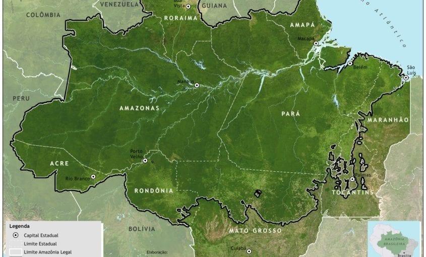 Mapa Amazonia Legal2 845x510 - Amazônia Legal