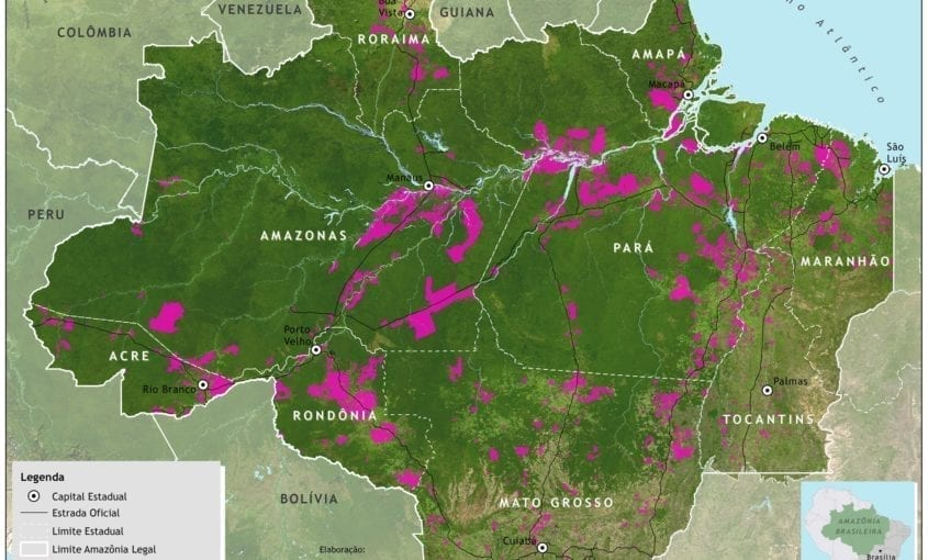 Mapa assentamentos 845x510 - Assentamentos de Reforma Agrária