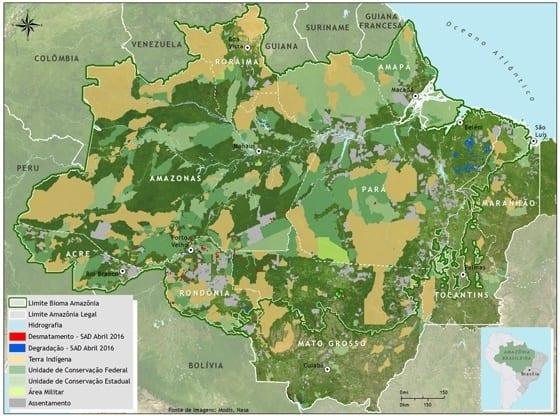 SAD abril 2016 - Imazon apresenta dados do monitoramento do desmatamento na Feira Pan-Amazônica do Livro