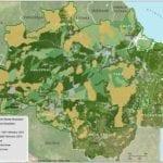 mapa sad desmat 02 2015 INGLES 150x150 - Deforestation report for the Brazilian Amazon (February 2015) SAD