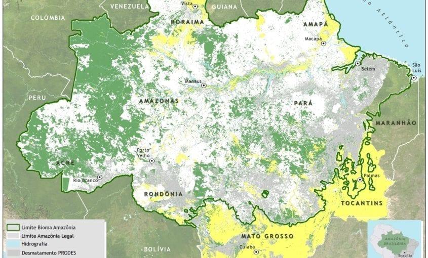 mapa sad nuv 02 2017 bioma nota 845x510 - Nota informativa – Transparência Florestal (SAD) fevereiro de 2017