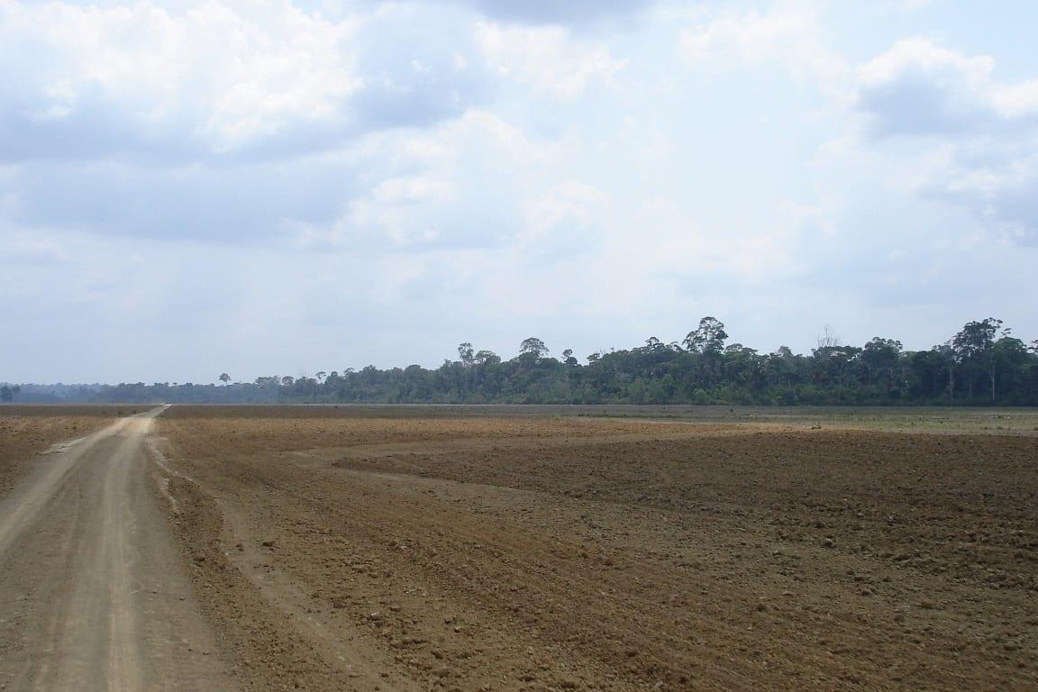 Desmatamento na Amazônia Foto Sociobio Amazonia Flickr. - As fissuras da barreira de áreas protegidas