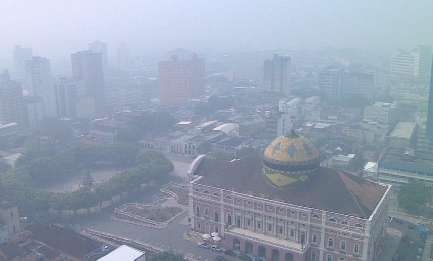 manaus 845x510 - #ImagemDoDia Impacto das queimadas nas cidades amazônicas