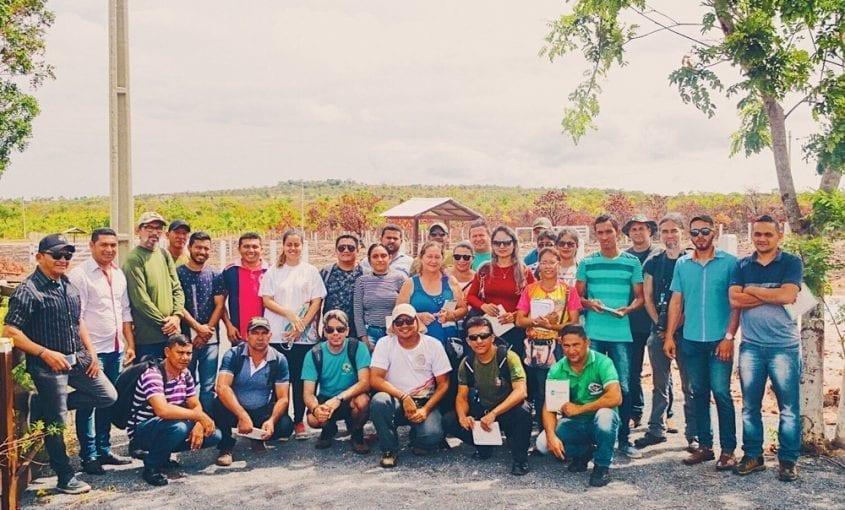 """Treinamento Procedimentos Operacionais 03 845x510 - Treinamento """"Procedimentos Operacionais para Fiscalização Ambiental"""" acontece em Monte Alegre"""