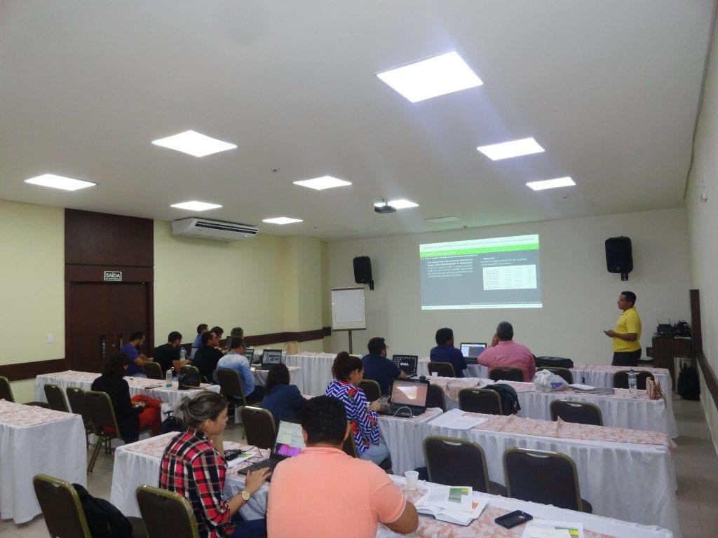 DSC05730 1024x768 - Imazon realizou mais um ciclo de capacitação para técnicos das Secretarias Municipais de Meio Ambiente dos municípios do Amazonas, Rondônia e Mato Grosso