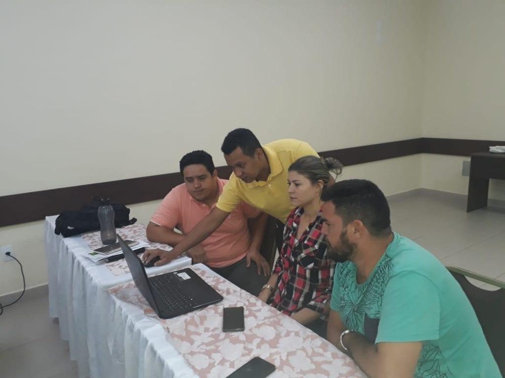 WhatsApp Image 2019 04 23 at 16.32.39 1024x768 - Imazon realizou mais um ciclo de capacitação para técnicos das Secretarias Municipais de Meio Ambiente dos municípios do Amazonas, Rondônia e Mato Grosso