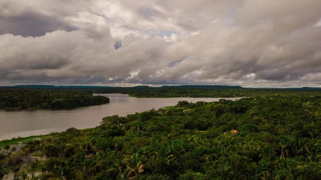 DJI 0029 1024x575 - Área rica em espécies da fauna silvestre é diagnosticada em Juruti