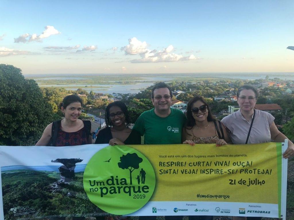"""monte alegre fabiola 1024x768 - Campanha """"Um dia no Parque"""" leva famílias para Unidades de Conservação em todo o país"""