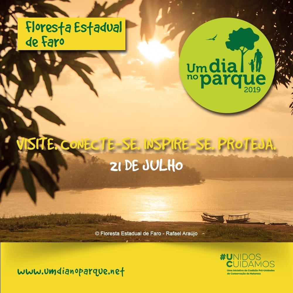 udnp flora faro - Áreas verdes paraenses receberão visitantes na campanha Um Dia no Parque