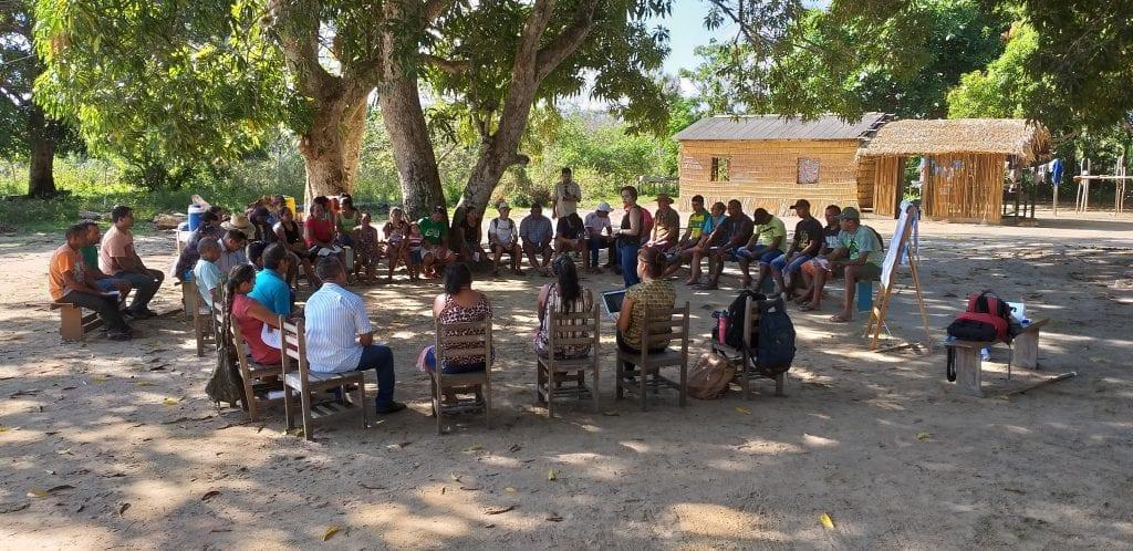 20190818 093514 1024x498 - Imazon e prefeitura de Juruti realizam reuniões com a população sobre o Projeto de criação de  Unidade de Conservação no município