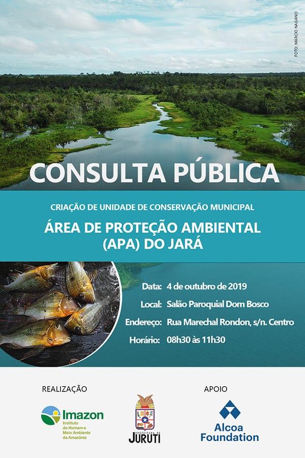 convite Juruti consultas publicas site - Edital de convocação para Consulta Pública de criação de Unidade de Conservação Municipal em Juruti