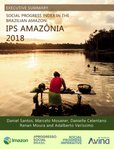 IPS2018 230x300 - Social progress index in the Brazilian Amazon: IPS Amazônia 2018