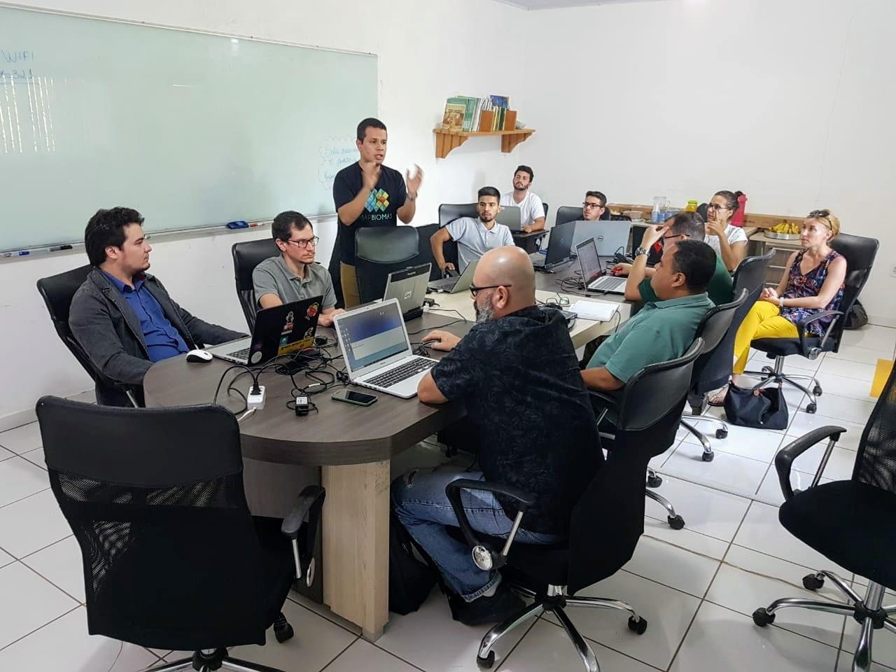 Oficina MapBiomas 01 - Imazon promove workshop sobre dados e as ferramentas do MapBiomas.