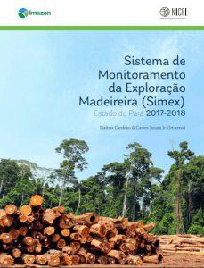 simex capa 229x300 1 - Sistema de Monitoramento da Exploração Madeireira (Simex): Estado do Pará 2017-2018
