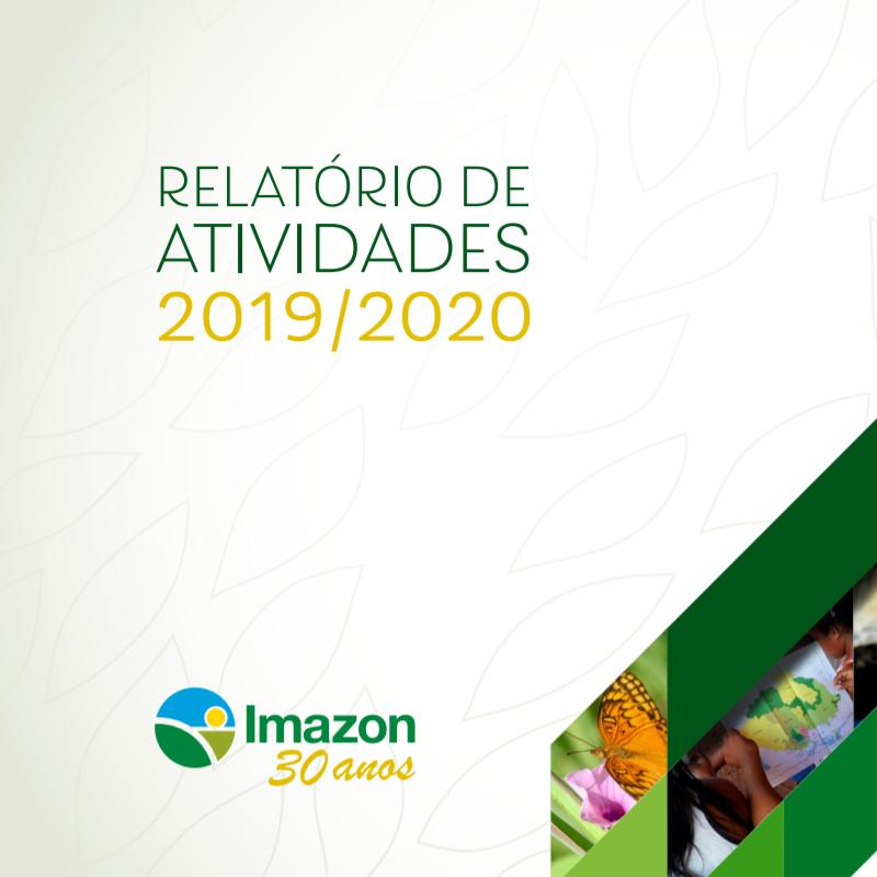 Capa Relatorio de Atividades 2019 2020 Quadrada - Annual Report 2019-2020 (Portuguese)