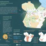 Infografico SIMEX 2018 2019 A5 1 150x150 - Sistema de Monitoramento da Exploração Madeireira (Simex): Estado do Pará 2018-2019