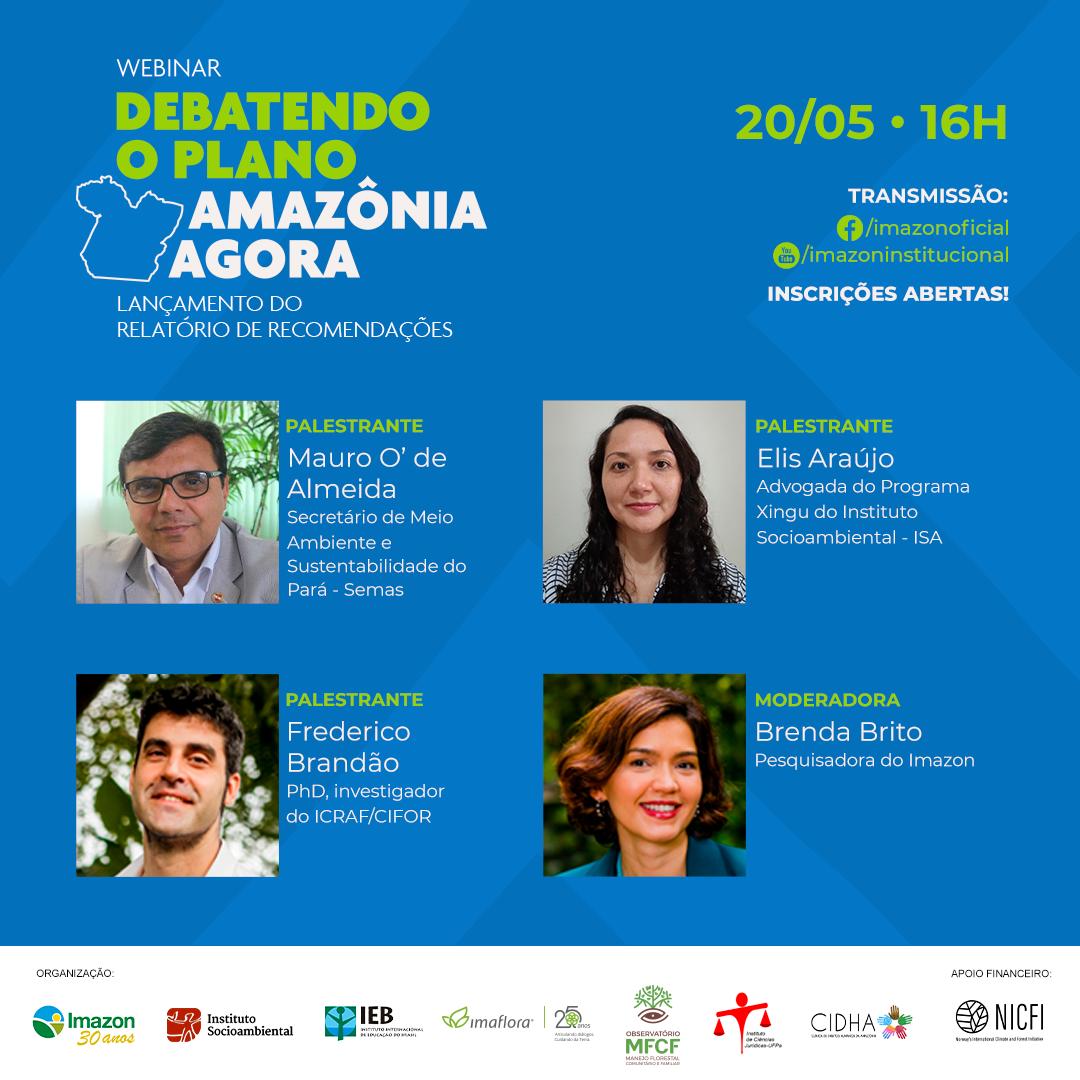 image1 1 - Instituições se unem para apresentar recomendações ao plano de redução de desmatamento do Pará