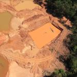 Imagem obtida durante operacao da Policia Federal contra o garimpo ilegal em terras indigenas do Para em agosto de 2021 Foto Policia Federal Reproducao 150x150 - Ocorrências de desmatamento dentro e no entorno das áreas protegidas aumentaram 13% em um ano na Amazônia