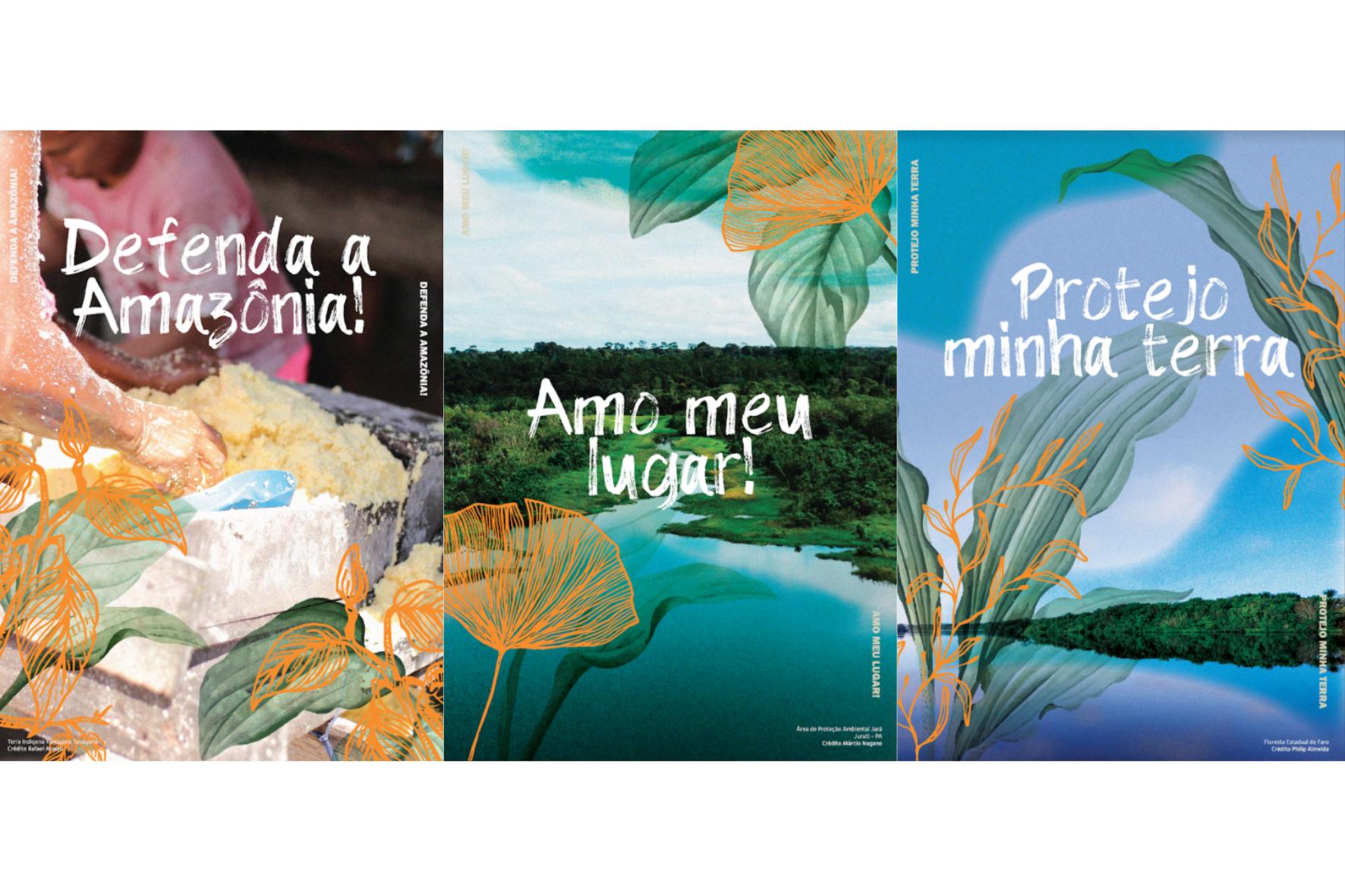 Lambes Imazon Frases - Dia da Amazônia: Imazon lança série de lambes com imagens e ilustrações do bioma